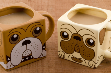Bulldog coffee mug for the dog lovers